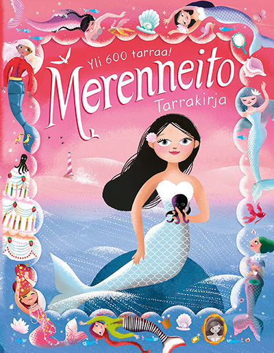 Mermaid sticker book by Ulla Sainio